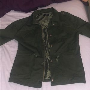 Brand new without tags olive cargo jacket